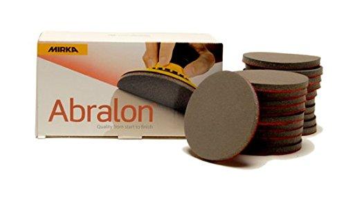 MIRKA Abralon 3 Inch 4000 Grit Sanding Discs 20 per box