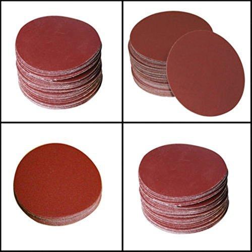 Moshine 7inch Sanding Discs Velcro Hook Loop Backed Aluminum Oxide Sandpaper 10pcs 1000 GRIT Sanding Discs Color 10pcs 1000 GRIT Sanding Discs Model  Tools Hardware store