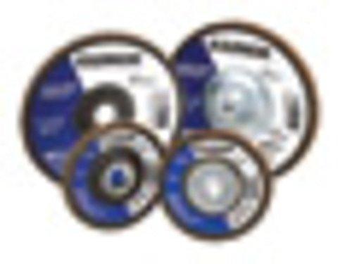 Radnor 4 12 X 58 - 11 60 Grit Zirconia Alumina Type 27 High DensityJumbo Flap Disc  12 EA