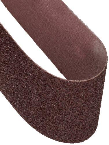 Norton 3X High Performance Portable Sanding Belt Aluminum Oxide 24 Length x 4 Width Grit 50 Coarse Pack of 2