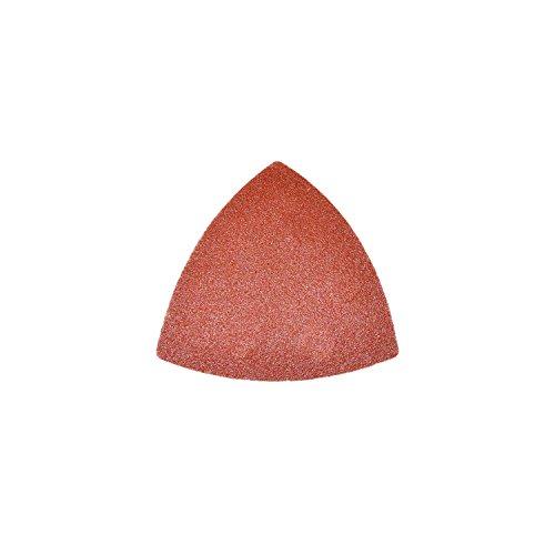 ALEKO 14SP01 15 Pieces 80 Grit Triangle Sanding Pads Delta Velcro