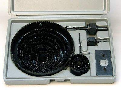 HOLE SAW SET - 16 pc Hole Saw Kit- 34 - 5 inch - includes Case
