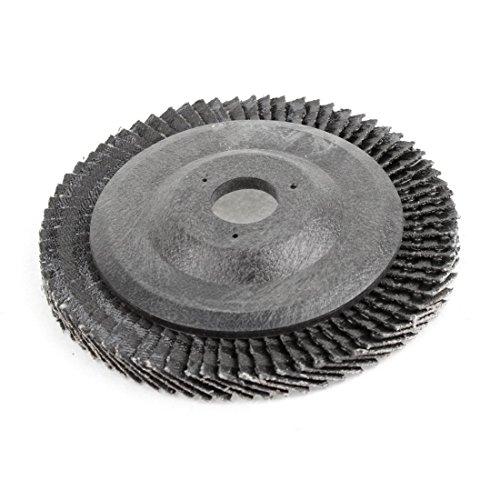 Utoolmart 100 Impeller Grinding Wheel Disc 4 Inches Polishing Silcon Carbide Wheel Sandpaper Sheet Calcining 911 80 Grit Sanding Disc Buffing Wheel 10 Pcs