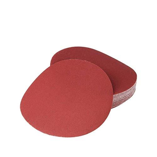 Rannb Hook Loop Discs Sanding Disc Sandpaper Discs 7 Inch 240 Grit -20pcs