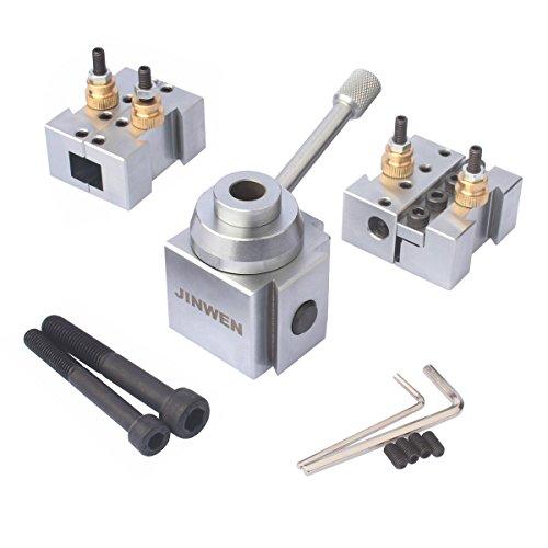 Jinwen Tooling Package Mini Lathe Quick Change Tool Post Holders Multifid Tool Holder Steel Holder