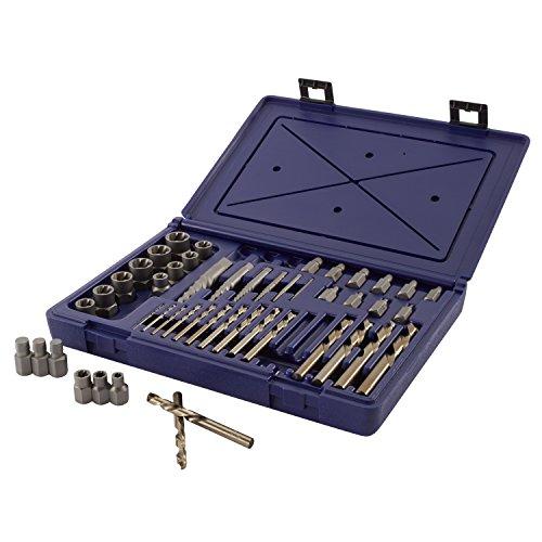 IRWIN Screw ExtractorDrill Bit Set 48-Piece 3101010