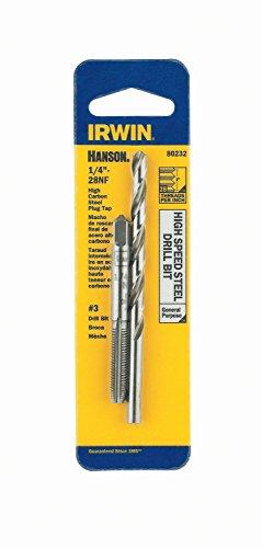 IRWIN HANSON 14 - 28 NF Tap and No 3 Drill Bit Set 80232