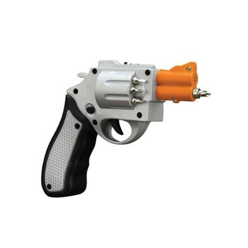 Forum Novelties Revolver Shaped Electric Screwdriver Gun with 6 Drill Bits