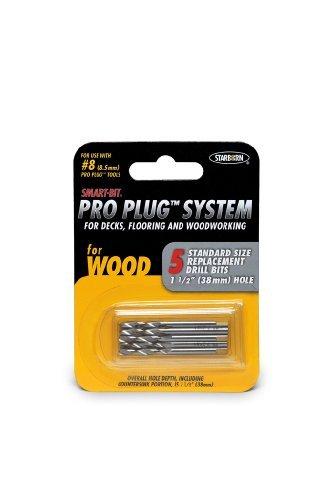 Starborn Pro Plug Stainless Steel Drill Bit Set 5 pc