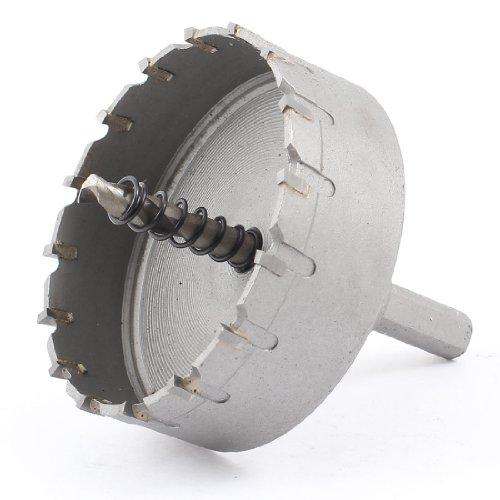 uxcellTriangle Shank 6mm Twist Drill Bit 75mm Dia Stainless Steel Hole Saw Cutter