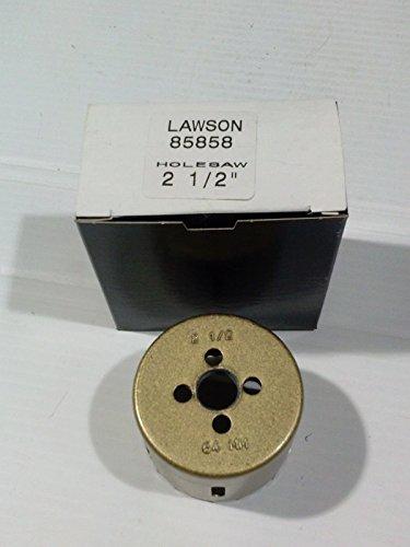 Lawson 2-12 Bi-Metal Hole Saw Set of 3