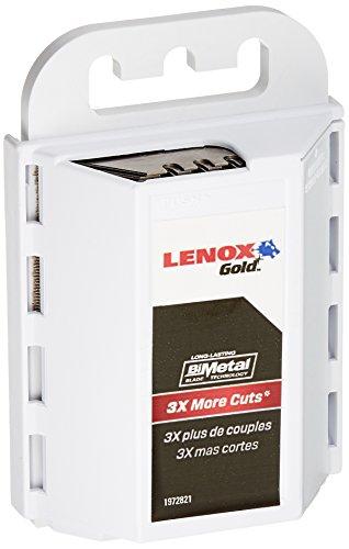 LENOX Gold Utility Knife Blades 50 Pack 20351GOLD50D