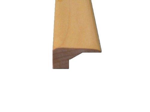 Prefinished Maple Wood Floor Flooring Square NoseCarpet Reducer or End Cap For 916 Floating Wood Floor Molding Trim