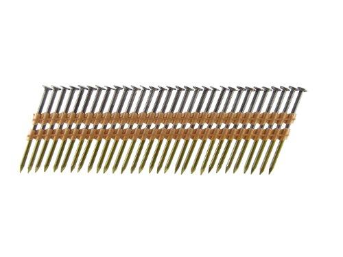 B&C Eagle 312X13122B Round Head 3-12-Inch x 131 x 22 Degree Bright Smooth Shank Plastic Collated Framing Nails 4000 per box