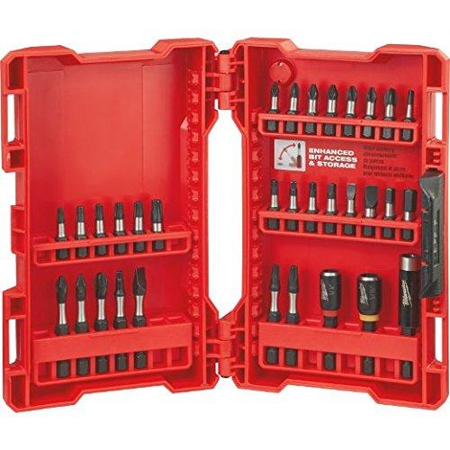 Milwaukee Electric Tool 48-32-4004 Shockwave Heavy Duty Impact Driver Bit Set 32 Pc