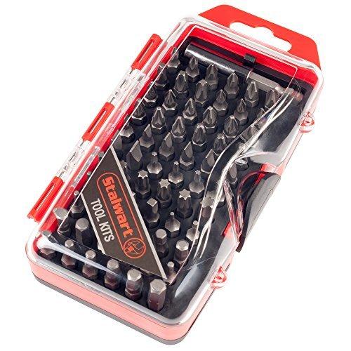Stalwart 75-HT4067 Ultimate Compact Screwdriver Bit Set 67 Piece by Stalwart