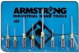 Armstrong 66-612 8 Piece Cushion Grip Screwdriver Set