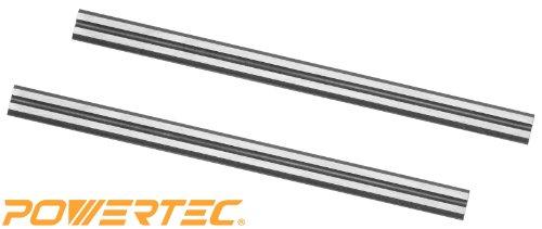 POWERTEC Tungsten Carbide Planer Blades Repl for Bosch PA1202 Set of 2