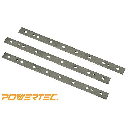 POWERTEC 128010 HSS Planer Blades for DeWalt 125 Planer DW734