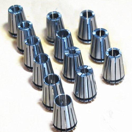 ER20 13Pcs Spring Collet Set For CNC Milling Lathe Tool Engraving Machine