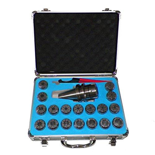 BT40 ER32 Milling Collet Chuck Set 18 Pcs Proj 3276 Bal25000rpm