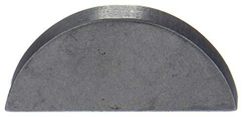 Gl Huyett Woodruff Key 516x1 12 In SAE 25 PK10 Plain C-1035 Steel WWG-WKC-025-1 Each