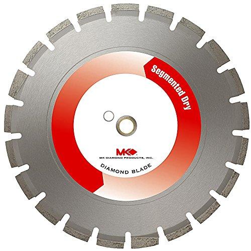 MK Diamond 162838 MK-699D Dry Cutting Concrete and Asphalt Blade 16 x 125 x 1