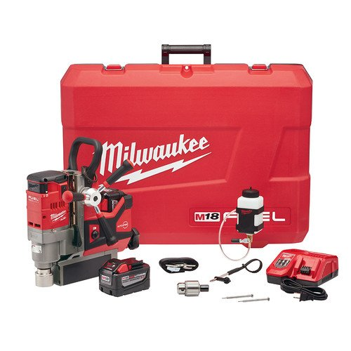 Milwaukee 2788-22HD M18 FUEL 1-12 in Lineman Magnetic Drill Kit