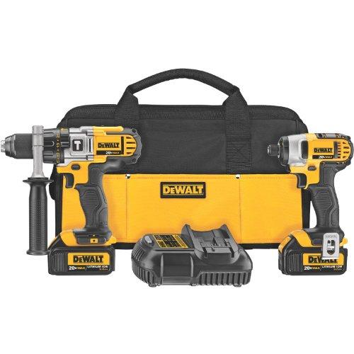 DEWALT 20V MAX Impact Driver and Hammer Drill Combo Kit DCK290L2