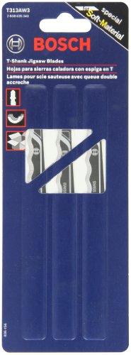 Bosch T313AW3 6-Inch Knife Edge Jigsaw Blade 3-Pack