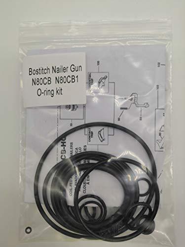 N80CB N80CB1 O-ring Kit For Bostitch Coil Framing Nailer With Trigger O-Rings