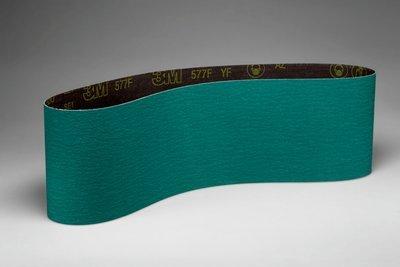 3M 577F Coated Alumina Zirconia Sanding Belt - 100 Grit - 6 in Width x 48 in Length - 27688 PRICE is per CASE