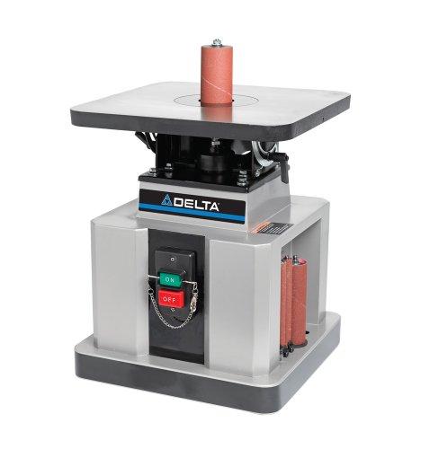Delta Woodworking 31-483 Heavy-Duty Oscillating Bench Spindle Sander 12-HP 115-volt