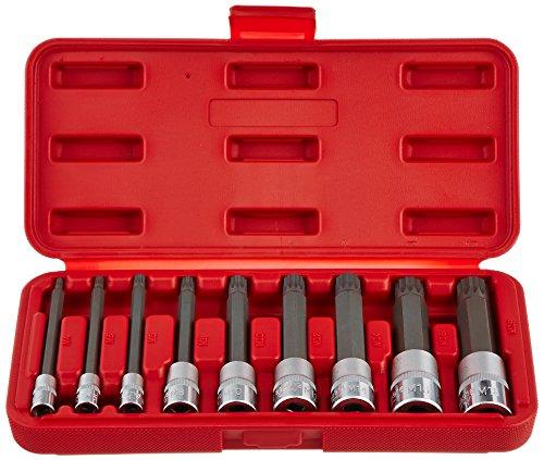 Sunex 9929 Sunex 9929 Triple Square Bit Socket Set 4-Inch 9-Piece