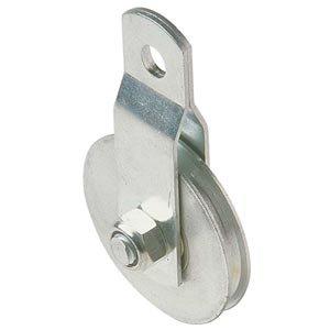 Steel Pulley wBearings 1-34