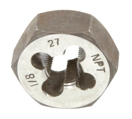Forney 23142 Pipe Die Industrial Pro NPT Hex Re-Threading Carbon Steel Right Hand 18-Inch-by-27
