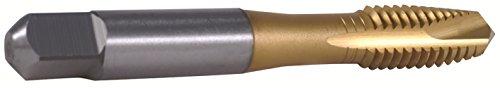 HHIP 1011-7704 M6-10 D5 Tin Metric Spiral Point Tap-Plug  Din371 3 Flute