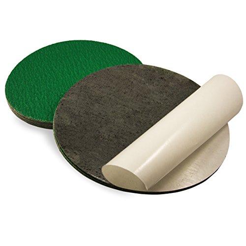 5 Inch 60 Grit Adhesive Back Metal Grinding Zirconia Sanding Discs 10 Pack