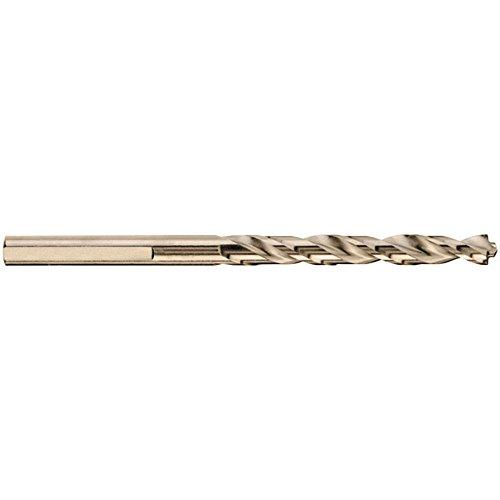 DEWALT DW1906 332-Inch Gold Ferrous Oxide Split Point Twist Drill Bit 2-Pack