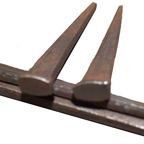 3 - 10d CUT FLOORING NAILS - Antique Historic Reproduction Nails - lbs 1