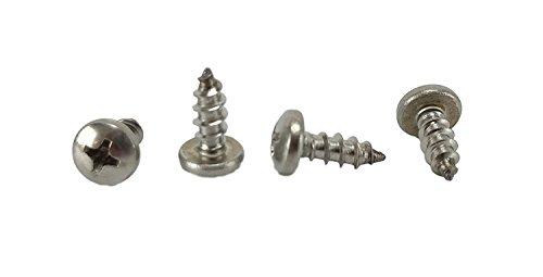 10 x 12 Stainless Phillips Pan Head Sheetmetal Screw 12 to 2 Lengths in Listing 100 Sheet Metal Screws 10 x 12 inch