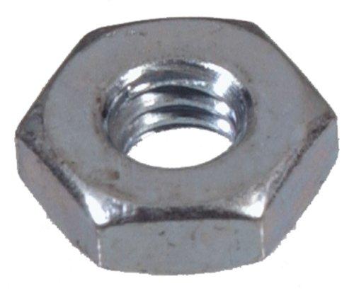 The Hillman Group 140009 Zinc Hex Machine Screw Nut 4-40 Pack of 100
