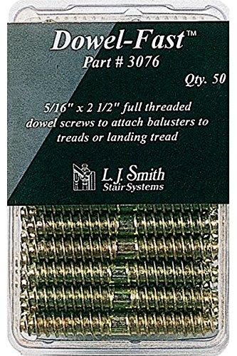 LJ-3076 Dowel-Fast Screws Pack of 50