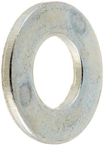 Steel Flat Washer Zinc Plated Finish ASME B18221 516 Screw Size 1132 ID 1116 OD 0065 Thick Pack of 100