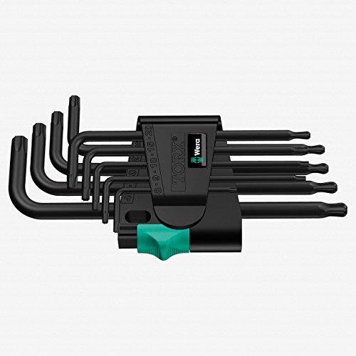 Wera - Wera 967 PKL9 TorxBallpoint 9-piece Torx Key Set - 05024242004