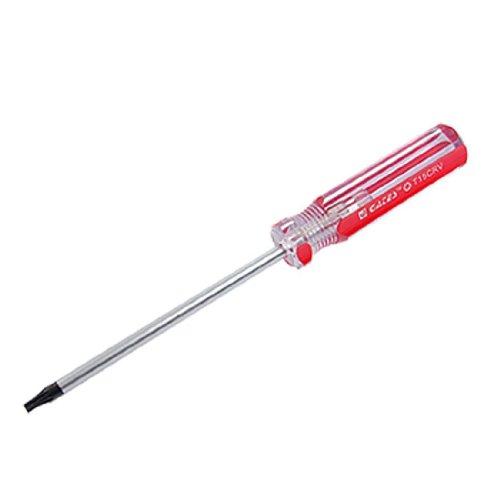 TOOGOOR Red Clear Plastic Handle T15 Security Torx Screwdriver Tool