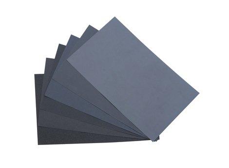 WetDry Paper 9 X 11 ASST - 20pc 2 EA GRITS 180-3000 - ABR-50090