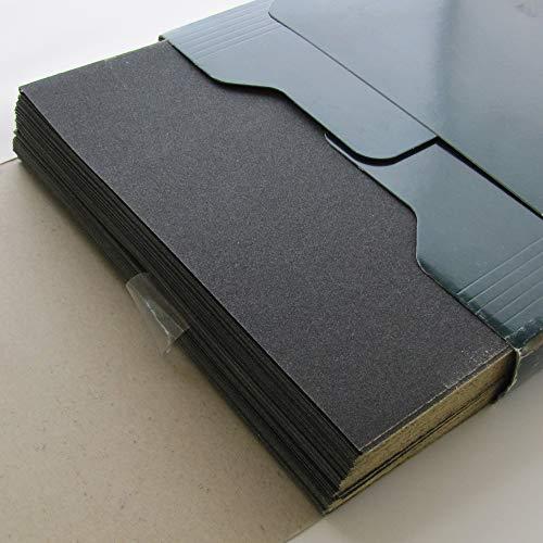 Sandpaper Grit 220  9 x 11  100 Sheets  Wet Dry  Wood Metal Automotive