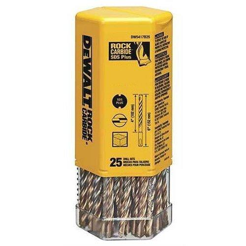 DeWalt DW5417B25 DeWalt 14 x 4 x 6 Rock CarbideTM SDS Hammer Bit Bulk 25 by DEWALT