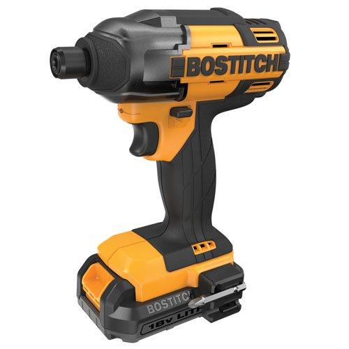 BOSTITCH BTC440LB 18V Lithium 14-Inch Hex Chuck Impact Driver Kit